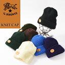正規取扱店 送料無料(ゆうパケット)イルビゾンテ IL BISONTE ニット帽 レザーパッチ付きニットキャップ 帽子 541623…
