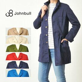 残りわずか!セール50%OFF ジョンブル Johnbull スプリングコート ショップコート レディース アウター ジャケット AL811