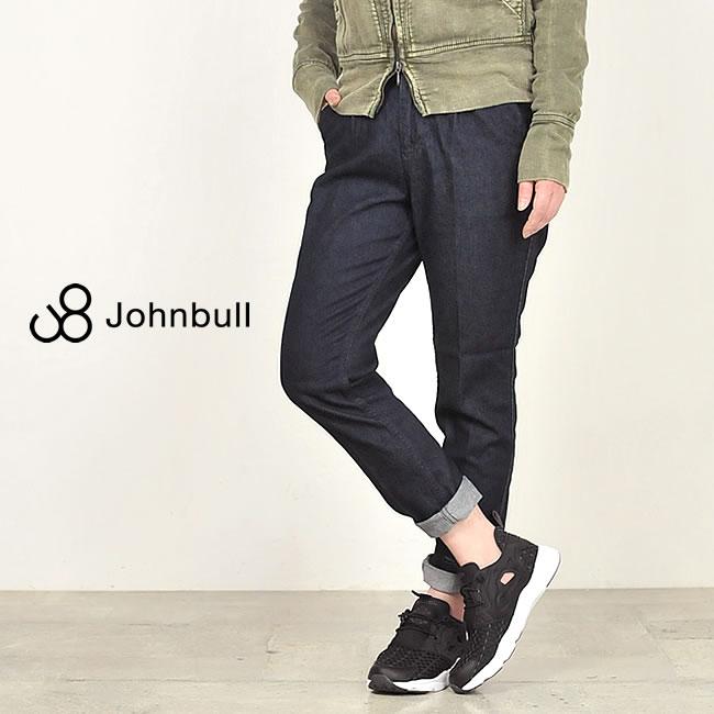 裾上げ無料 ジョンブル Johnbull **コンフォートトラウザー デニムパンツ AP365 レディース