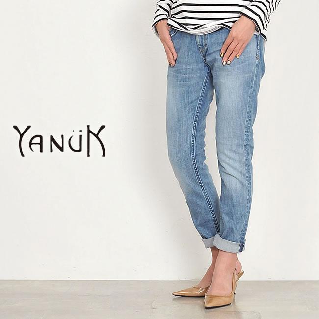 SALEセール20%OFF ヤヌーク YANUK KAY ケイ ボーイズスリムデニムパンツ YANUK 裾上げ無料 57161062