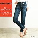 裾上げ無料 レッドカード RED CARD New ANNIVERSARY アニバーサリー ストレッチ テーパード デニムパンツ レディース ジーンズ ジーパン REDCARD 26403-akd