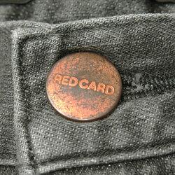 2019新作裾上げ無料レッドカードREDCARDLibertyxxリバティキスキスストレートデニムパンツレディースジーンズグレーデニムREDCARD60421