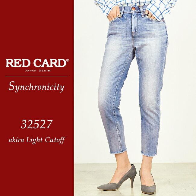 【ポイント10倍/送料無料】RED CARD レッドカード Synchronicity Cut off シンクロニシティ カットオフデニム 32527-2【郵便局/コンビニ受取対応】