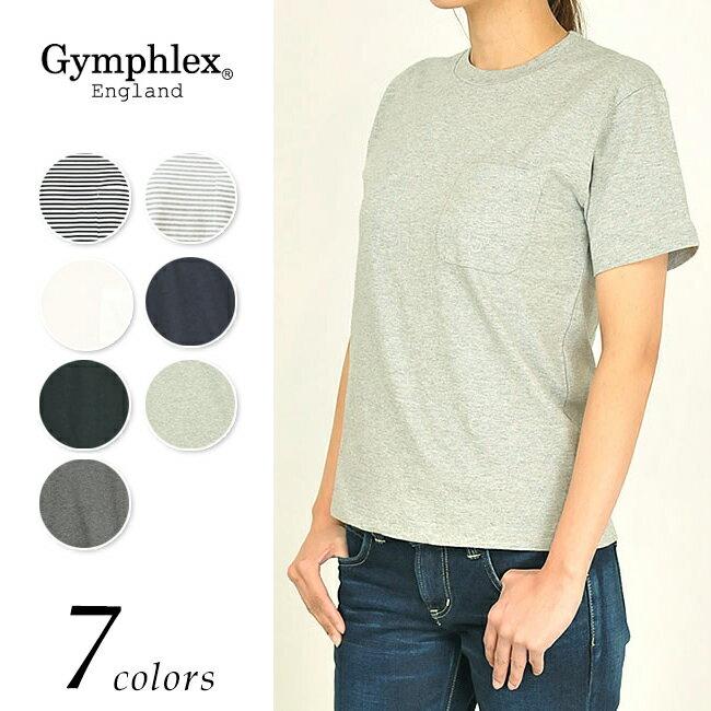 【ポイント10倍】Gymphlex ジムフレックス ポケット 半袖 Tシャツ J-1163GF レディース【コンビニ受取対応商品】