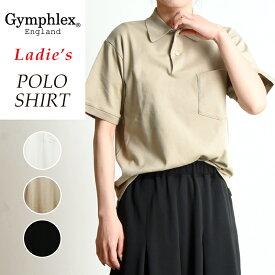 2019春夏新作 ジムフレックス Gymphlex 半袖ポロシャツ レディース J-1333