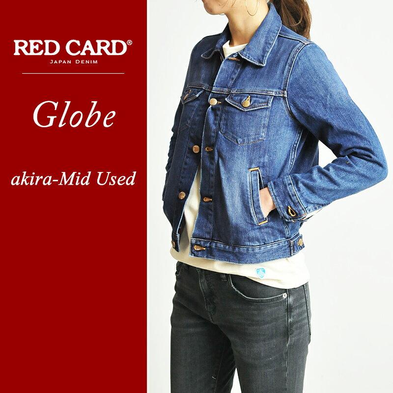 SALEセール20%OFF レッドカード RED CARD Globe グローブ デニムジャケット Gジャン REDCARD RCG001(G001)