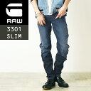 SALEセール10%OFF 2019春夏新作 裾上げ無料 ジースターロウ G-STAR RAW Arc 3D スリムジーンズ メンズ デニムパンツ/ジーンズ DK AGED D10060-8968 Arc 3D Slim Jeans