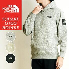 2019秋冬新作 ノースフェイス THE NORTH FACE スクエアロゴフーディ Square Logo Hoodie 裏起毛 スウェット プルオーバーパーカー メンズ レディース NT61835