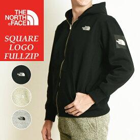 2019秋冬新作 ノースフェイス THE NORTH FACE スクエアロゴフルジップ Square Logo FullZip 裏起毛 スウェット ジップアップパーカー メンズ レディース NT61836