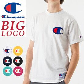 SALEセール10%OFF 2019春夏新作 Champion チャンピオン ビッグロゴ刺繍Tシャツ アクションスタイル Tシャツ ACTION STYLE BIG LOGO T-SHIRT C3-F362