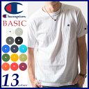 Champion チャンピオン 送料無料(メール便)Tシャツ ベーシックライン クルーネックTシャツ BASIC LINE CREW NECK T-SHIRTS...