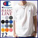【送料無料(ゆうパケット)】Champion チャンピオン Tシャツ ベーシックライン クルーネックTシャツ BASIC LINE CREW NECK T-SH...