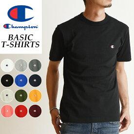 SALEセール10%OFF 2019春夏新作 Champion チャンピオン Tシャツ ベーシックライン クルーネックTシャツ BLACK ブラック 黒 メンズ BASIC LINE CREW NECK T-SHIRTS C3-P300 090