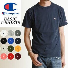 SALEセール10%OFF 2019春夏新作 Champion チャンピオン Tシャツ ベーシックライン クルーネックTシャツ ネイビー 紺 メンズ BASIC LINE CREW NECK T-SHIRTS C3-P300 370