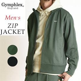 2019春夏新作 ジムフレックス Gymphlex 立衿 ジップジャケット メンズ ジャージ ブルゾン サイドライン J-1344