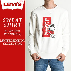 【30%OFF】LEVI'S(R)XPEANUTS(R) リーバイス×スヌーピー スウェットシャツ/トレーナー メンズ 17895 LIMITEDEDITION COLLECTION