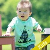 出産祝いに!名入れTシャツ【ティピ】キッズサイズ