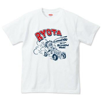 名入れTシャツ(カスタムオーダー可)【Indiancar】【送料無料_spsp1304】【0405_キッズ・ベビー・マタニティ】