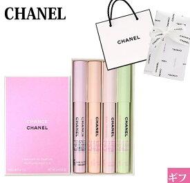 シャネル CHANEL 香水 レディース クレヨンタイプ チャンス クレイヨン ドゥ パルファム セット 4×1.2g