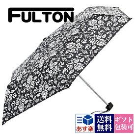【後払い OK】フルトン FULTON 傘 かさ 折りたたみ傘 花柄【折り畳み傘 雨傘 コンパクト フラワー ミニフラット ウォールペーパー おしゃれ 軽量 レディース かわいい 英国王室御用達 プレゼント ギフト ブランド 正規品 セール】