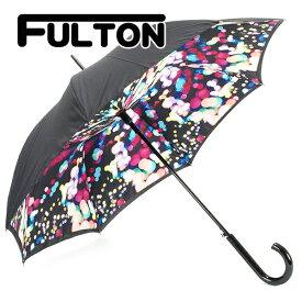 【後払い OK】フルトン FULTON 傘 かさ レディース 長傘 雨傘 ブルームズベリー ブルームズベバリー Bloomsbury-2 デジタルライツ L754 031353 DIGITAL LIGHTS