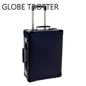 グローブトロッター GLOBE-TROTTER スーツケース バッグ 鞄 かばん キャリーバッグ メンズ オリジナル トロリーケース 18インチ ネイビー×ブラック GTORGNB18TC 正規品 セールブランド 新品 新作 2019年 ギフト