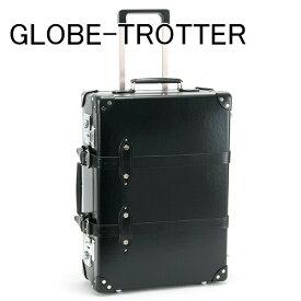 【即納】あす楽対応 グローブトロッター GLOBE-TROTTER キャリーケース スーツケース バッグ 鞄 かばん 旅行かばん 旅行鞄 20 CENTENARY センテナリー トローリーケース ブラック GTCNTBB20TC BLACK/BLACK 正規品 セールブランド 新品 新作 2019年母の日