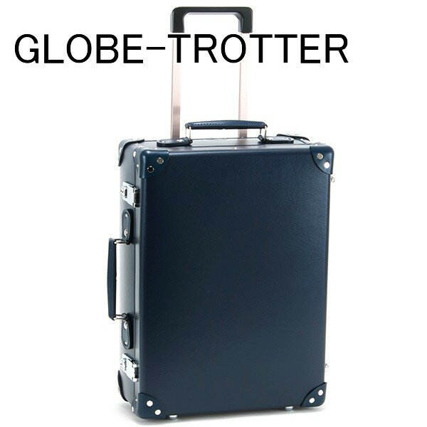 送料無料 新品 グローブトロッター GLOBE-TROTTER キャリーケース スーツケース 旅行かばん 旅行鞄 18 CENTENARY センテナリー トローリーケース ネイビー GTCNTNN18TC NAVY NAVY 正規品 セール ホワイトデー お返し 入学祝い 2018 ブランド品