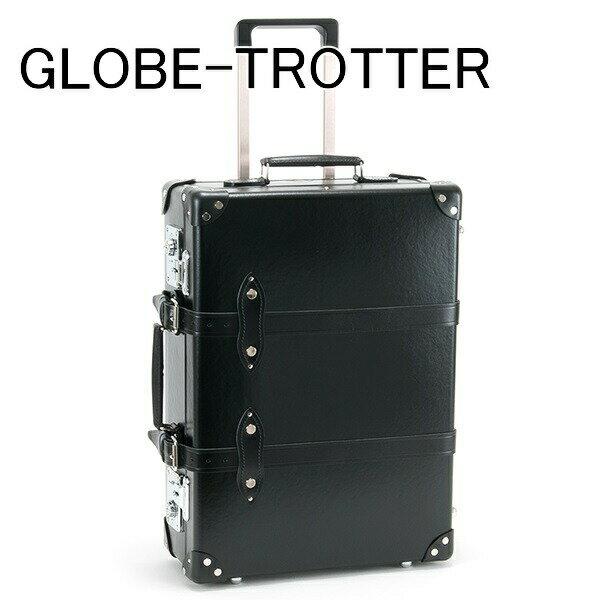 送料無料 新品 グローブトロッター GLOBE-TROTTER キャリーケース スーツケース 旅行かばん 旅行鞄 21 CENTENARY センテナリー トローリーケース ブラック GTCNTBB20TC BLACK BLACK 正規品 セール ホワイトデー お返し 入学祝い 2018 ブランド品
