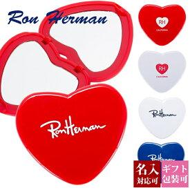 【後払い OK】ロンハーマン ミラー コンパクトミラー ハート型 【Ron Herman RHC FREE CITY フリーシティー 手鏡 ハンドミラー 折りたたみ 名入れ ギフト プレゼント かわいい おしゃれ 新品 正規品 ブランド セール レディース RH 】