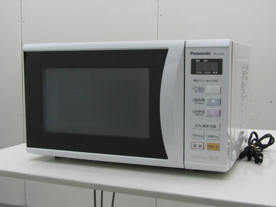 【あす楽】【中古 電子レンジ】パナソニック 単機能 電子レンジ エレック NE-EH225 22L ホワイト 2013年製
