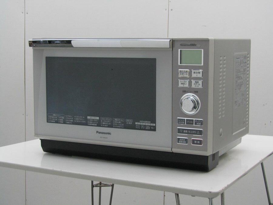 【中古 レンジ】パナソニック スチームオーブンレンジ コジマオリジナルモデル NE-KM264 26L フレッシュグレー 2012年製