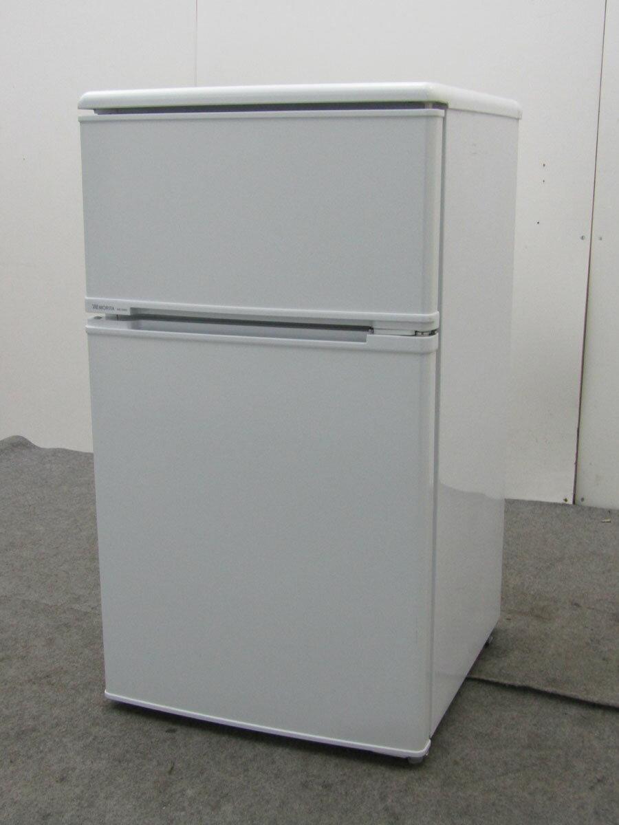 【中古 冷蔵庫】モリタ 冷凍冷蔵庫 MR-D90E 88L 2ドア ホワイト 2013年製【◆S◆】【refrigerator】