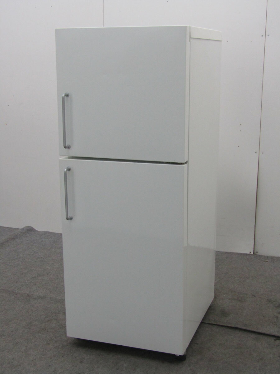 【中古 冷蔵庫】無印良品 冷凍冷蔵庫 M-R14C 137L 2ドア ホワイト 2008年製【◆S◆】【refrigerator】