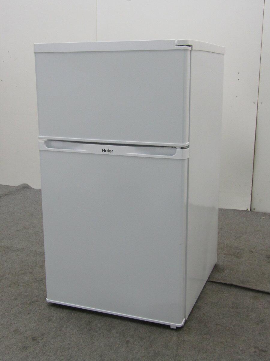 【中古 冷蔵庫】ハイアール 冷凍冷蔵庫 JR-N91K 91L 2ドア ホワイト 2016年製【◆S◆】【refrigerator】