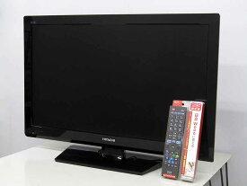 【祝令和 数量限定値下げ】【あす楽】【中古 液晶テレビ】日立 32型 ハイビジョン 液晶テレビ Wooo L32-H07B ブラック 2011年製