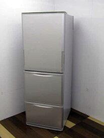 【中古】【冷蔵庫】シャープ どっちもドア 350L 3ドア SJ-W351D-S シルバー 2018年製 【L】 中古冷蔵庫 家電 キッチン家電 4〜6人用 大型 激安 大家族 ファミリー
