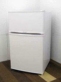 【中古 冷蔵庫】 リムライト WRH-96 90L 2ドア ホワイト 2019年製 100リットル未満 1人/セカンド向け 家電 キッチン家電 小型 価格 安い おすすめ 人気 激安 キッチン