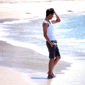 ハーフパンツメンズサーフパンツ水着海水パンツボードショーツ海水パンツボードショーツ