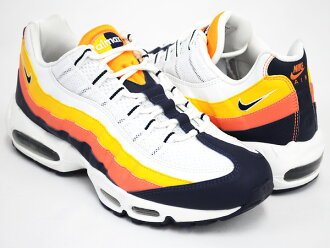 NIKE AIR MAX '95 WHITE / MIDNIGHT NAVY - TRT - PR GLD