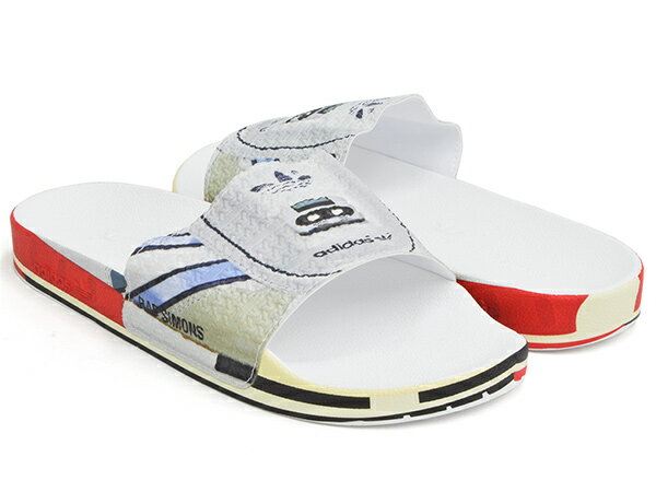 adidas RS MICRO ADILETTE【アディダス アールエス マイクロ アディレッタ】【マイクロペーサー MICROPACER ラフ・シモンズ RAF SIMONS】SILVMT / BRIRED / BRIRED