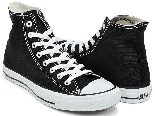 CONVERSE CANVAS ALL STAR HI【コンバース キャンバス オールスター ハイ】BLACK (M9160)