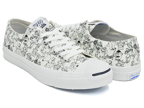 CONVERSE JACK PURCELL TOY STORY PT R【コンバース ジャックパーセル トイ・ストーリー リアクト】WHITE (1CL075)