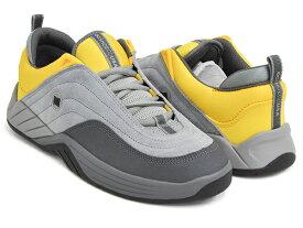 DC Shoes WILLIAMS SLIM【ディーシー シューズ ウィリアムス スリム】【スティービー・ウィリアムス】GREY / YELLOW (ADYS100539-GY1)