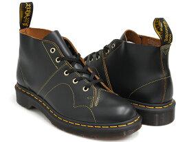 Dr.Martens CHURCH MONKEY BOOT【ドクターマーチン チャーチ モンキー ブーツ】【革靴 シューズ メンズ ウィメンズ レディース ユニセックス 男性 女性】BLACK VINTAGE SMOOTH