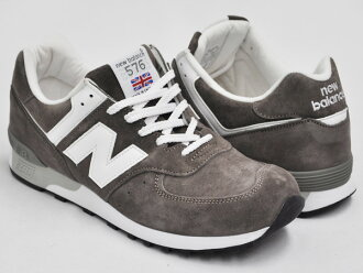 NEW BALANCE M576 FW FEATHER / WHITE (WIDTH D)