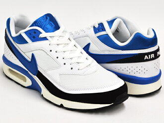 NIKE AIR CLASSIC BW FB WHITE and IMPERIAL BLUE-BLACK - SAIL