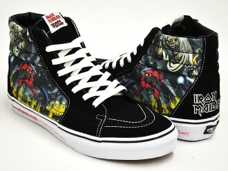 VANS SK8-HI (IRON MAIDEN 30TH) BLACK / NUMBER OF THE BEAST