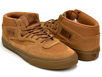 VANS HALF CAB (SUEDE/BUCK) TOBACCO BROWN