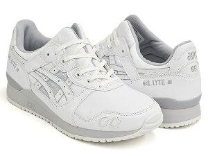 ASICS SportStyle GEL-LYTE III OG【アシックス スポーツスタイル ゲル ライト 3 オリジナル】【アシックス タイガー ASICS Tiger】WHITE / WHITE